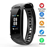 Fitness Tracker Colour Screen Activity Tracker IP68 Waterproof with Heart Rate Monitor, Step