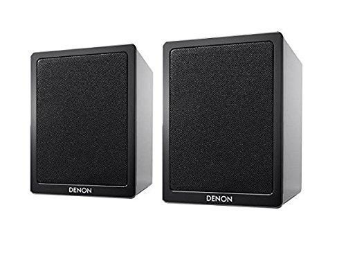 Denon SC-N9 2-Wege Lautsprecher PAAR hochglanz schwarz