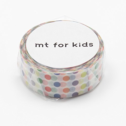 MT japonés Washi cinta de carrocero, Kids Mini rollo puntos adhesivos (mt01kid002)