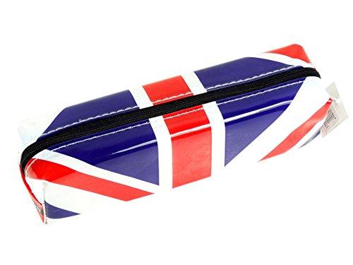 Stylischer, moderner Union-Jack-Design, Sammlerstück, Souvenir, Royal Flagge von England, Schule, Klassenzimmer-Schüler! Reißverschluss-Souvenir/Speicher-Memoria markant, Witziges Union-Jack-Motiv/Britische Flagge, Sammlerstück, tragbar Federmäppchen ein unvergessliches London, Sammlerstück, Souvenir, Federmäppchen, Mäppchen, Trousse Astuccio/Estuche! -