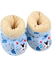 Baby Grow Soft & Comfortable Baby Booties/Socks Cum Shoes/Slippers Cartoon Design 0-6 Months