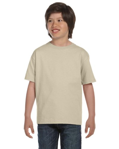 Hanes Youth 6.1 OZ. Beefy-T Sand