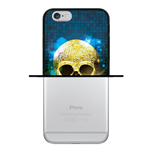 iPhone 6 6S Hülle, WoowCase Handyhülle Silikon für [ iPhone 6 6S ] Mondrian Stil Rechtecke Handytasche Handy Cover Case Schutzhülle Flexible TPU - Transparent Housse Gel iPhone 6 6S Schwarze D0351