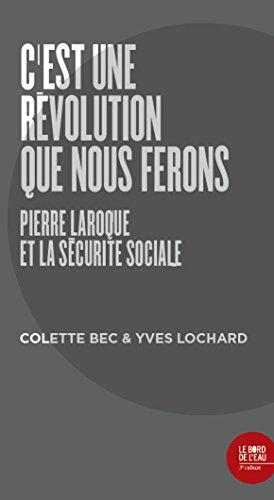 C'est une révolution que nous ferons par Colette Bec