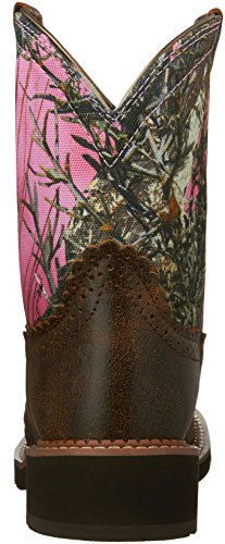 Ariat Fatbaby Heritage Boot Western Vintage Bomber-Pink Camo