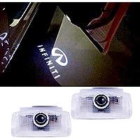 Door Logo LED Projector Gate Luz de bienvenida Shadow Logo 2PCS LED luces de bienvenida luces