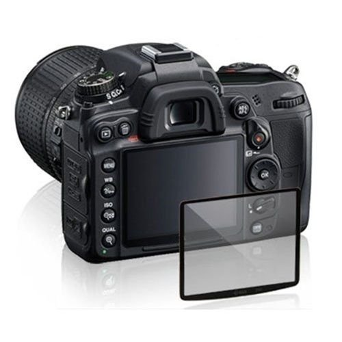 GGS/Maxsimafoto - Protector de pantalla de cristal LCD para Pentax K5 y K7, alta transparencia,...