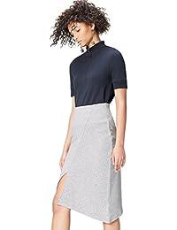 Marca Amazon - find. Falda Asimétrica para Mujer