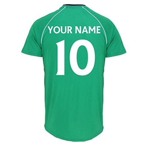Celtic Football Club Offizieller Personalisierte Verein Ist Ihr Name Zahl hier Fußball-Training Top Für Erwachsene Junior Kinder England Spiel Geburtstag Geschenk Individuellen Druck Jeden Fans (Alte Arsenal-trikot)