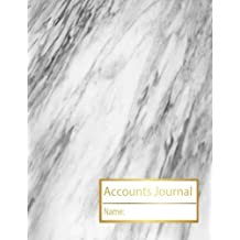 Accounts Journal: Account Book Journal, Accountability Journal,  Accounting Journal, Bookkeeping Ledger For Small Business, Personal, General ... 1 (Accounts Journals Ledger Multi column)