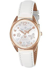 Esprit Damen-Armbanduhr TP10892 Light Grey Analog Quarz Leder ES108922004