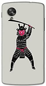 Brilliant 3D multicolor printed protective REBEL mobile back cover for Nexcus-5 - D.No-DEZ-1121-nx5