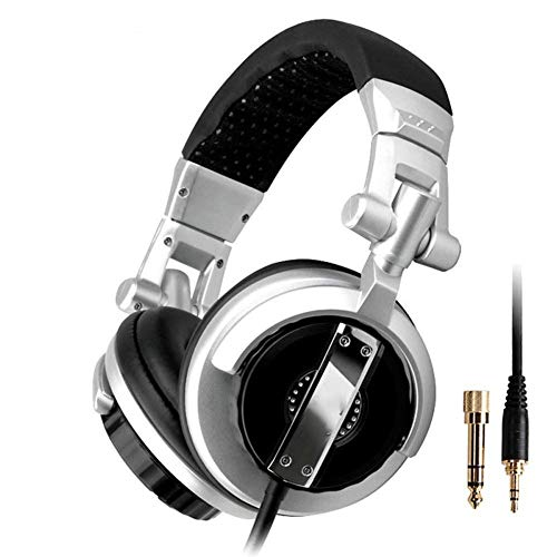 YUNYIN Gaming Headset, HiFi Comfort Noise Reduction 3,5 mm Profi-Kopfhörer mit Mikrofon für PC/Laptop/Smartphone -