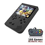 YLM Consolas de Juegos de Mano , Retro FC con 1 PCS Joystick para Dos Jugadores , Handheld Game Console 3 Pulgadas 168 Classic Game Console (FC con un Joystick)