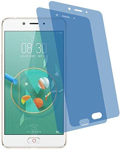4ProTec 2X Crystal Clear klar Schutzfolie für ZTE Nubia N2 Premium Bildschirmschutzfolie Displayschutzfolie Schutzhülle Bildschirmschutz Bildschirmfolie Folie