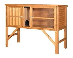 Fort William 5' Log lap Rabbit / Guinea Pig Hutch 5' x 2' x 2' + legs by hutch company