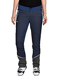 VAUDE Bormio Touring–Pantalones para mujer, otoño/invierno, mujer, color Azul - Eclipse, tamaño 46 [DE 44]