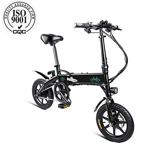 mysticall FIIDO D1 Electric Bike Folding für Erwachsene, E-Bike, 250 Watt Motor Scooter Electric, 7.8Ah / 10.4Ah Elektrisches Klappfahrrad mit Pedalen, bis zu 25 km/h