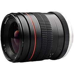 Javpoo Haute Qualité !! Objectif Professionnel 35MM F2.0 Objectif de Mise au Point Manuelle Objectif de la caméra pour Nikon SLR