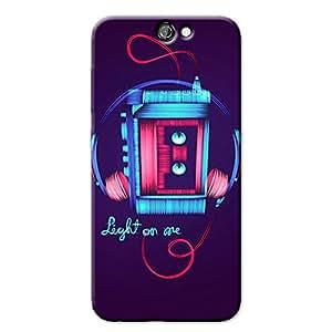 DIGITAL LINE ART BACK COVER HTC ONE A9