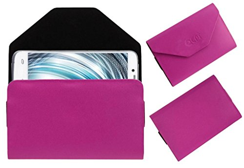 Acm Premium Pouch Case For Lava Xolo A1000 Flip Flap Cover Holder Pink  available at amazon for Rs.179