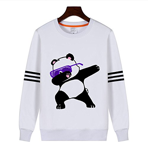 PZJ® Sweat à Capuche, Pull à capuche pour femme, Sweat-shirt à capuche Manches Longues pour Femmes Pull Tops Impression Panda Style4