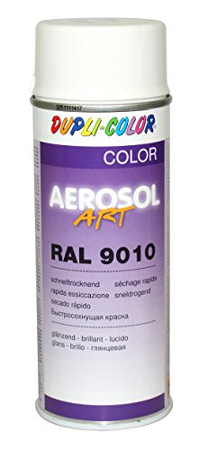 Dupli-Color 733130 Aerosol Art Ral 9010 glänzend 400 ml