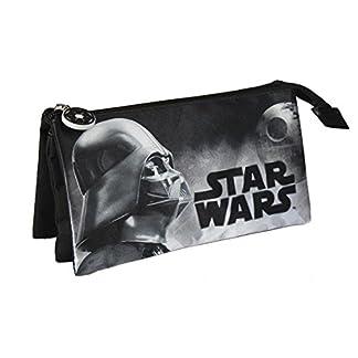 Star Wars- Estuche portatodo Triple (Artesanía Cerdá 2100001936)