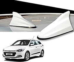 Auto Pearl - Premium Quality White Shark Fin Replacement Signal Receiver Antenna for - Hyundai I20 Elite