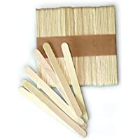 silikomart Kit de 100 palitos de madera 72 x 8 x 2 mm