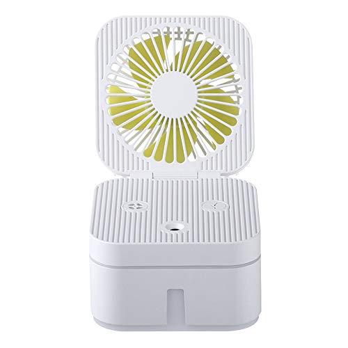 Misting Cooling Handheld, Mini Ventilador portátil de aspersión portátil, Carga USB, humidificación,...
