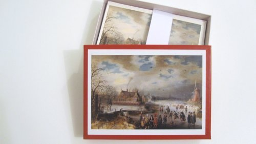nouvelles-images-holiday-boxed-note-card-set-skating-on-the-frozen-amstel-river-1611-adam-van-breen-