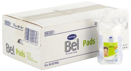 Bel premium Duo-Pads mit Aloe Vera und Provitamin B5 (Art. 918555), 15 Beutel à 35 Stück - Gesicht Reinigen Mit Aloe-pads