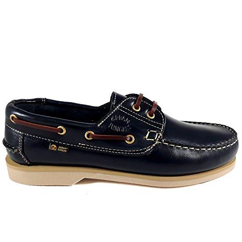 Selva Urbana, Sapatos Masculinos De Barco Da Marinha