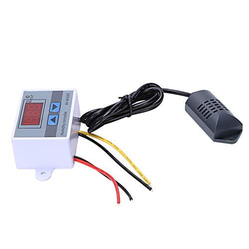 Cikuso Hygrometer Feuchte Regler Für Digitale Feuchte Regler 0-99% Rh Hygrostat Mit Feuchte Sensor AC220V -