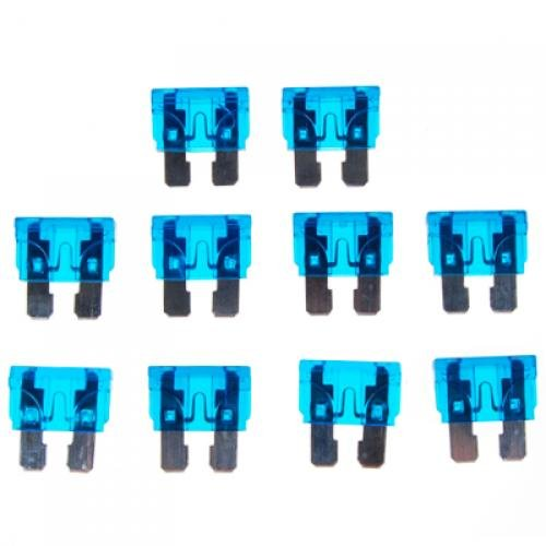 10pcs-15a-32v-Blau-Standard-Flachstecksicherungen-Ersatz-Fr-Auto-Auto