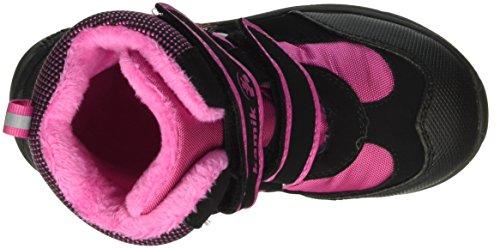 Kamik Slate, Bottes mi-hauteur avec doublure chaude mixte enfant Multicolore (Schwarz/Rosa)