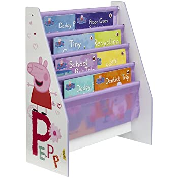 Peppa Pig Kids Bookcase By Hellohome Amazon Co Uk Kitchen Amp Home