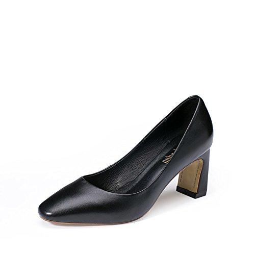 Intellectuelle confortable au transport sur les talons simples à l'automne/Rugueux avec des chaussures légères A