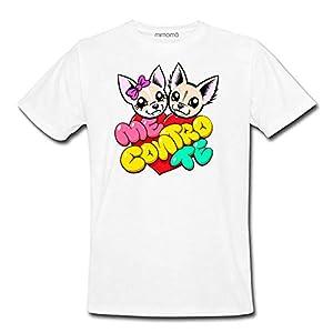 mimoma T-Shirt Maglietta Maglia Me Contro Te Cuore 100% Poliestere Lavabile in Lavatrice (8/10)