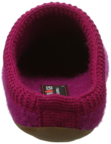 Haflinger Unisex-Erwachsene Everest Classic Pantoffeln Pink (Kardinal)
