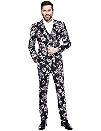 Amazon.it  fiori - Multicolore   Abiti e giacche   Uomo  Abbigliamento a928161c16c