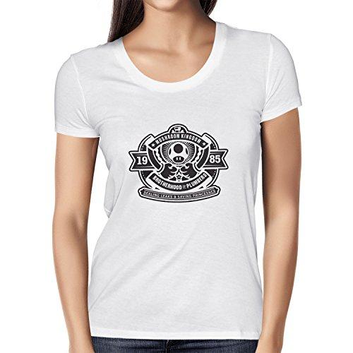 NERDO - Brotherhood of Plumbers - Damen T-Shirt Weiß