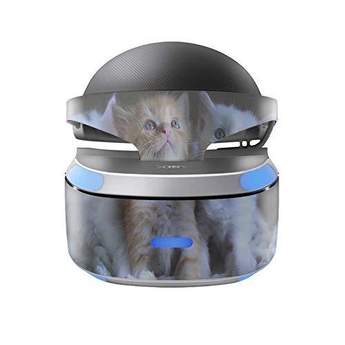 Skins4u Aufkleber Design Schutzfolie Vinyl Skin kompatibel mit Sony PS4 Playstation 4 VR Brille Kittys