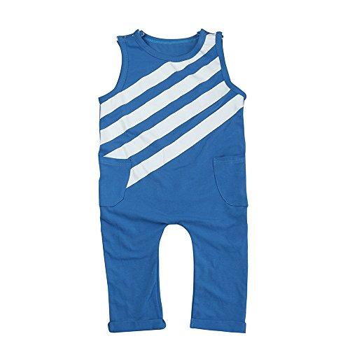 g Strampler Overall Jungen Mädchen Cotton Mode Kurze Ärmel T-Shirt Romper Jumpsuit ()