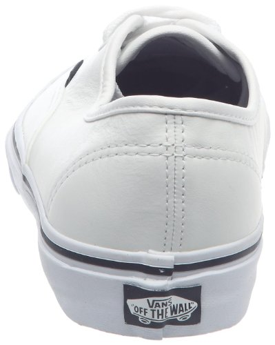 Vans Authentic Scarpe da Skateboard, Unisex Adulto Bianco (Italian Leather true white)