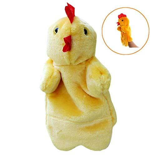 üsch Toy Story Huhn Plüsch Finger Spielzeug Telling Lernspielzeug für Kinder Vorschulkindergartenkinder (Henne) ()
