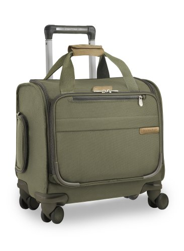 briggs-riley-baseline-cabin-spinner-288-litres-olive-bagage-cabine-39-cm-liters-vert-olive
