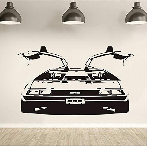 Wwddp Zurück In Die Zukunft DmcVinyl Wandkunst Aufkleber Remvable Schlafzimmer Auto Aufkleber Wohnzimmer Dekoration 42 * 71 Cm