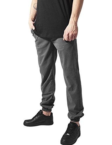 Urban Classics Stretch Twill Jogging Pants, Pantalon Homme Grau (darkgrey 94)